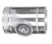 Ревизия-тройник с крышкой для газа и жидкого топлива