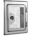 Дверка ревизии 210x140 мм с вентиляционной решеткой, вставка 60 мм